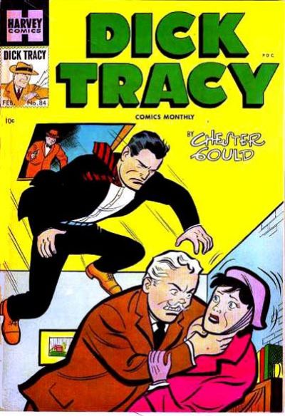 Cover for Dick Tracy (Harvey, 1950 series) #84
