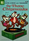Cover for Four Color (Dell, 1942 series) #1042 - The Three Chipmunks