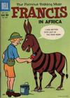Cover for Four Color (Dell, 1942 series) #1068 - Francis, The Famous Talking Mule