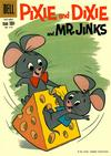 Cover for Four Color (Dell, 1942 series) #1112 - Pixie and Dixie and Mr. Jinks
