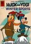 Cover for Four Color (Dell, 1942 series) #1310 - Huck and Yogi Winter Sports