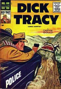 Cover Thumbnail for Dick Tracy (Harvey, 1950 series) #100