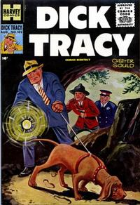 Cover Thumbnail for Dick Tracy (Harvey, 1950 series) #102