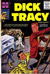 Cover Thumbnail for Dick Tracy (Harvey, 1950 series) #107