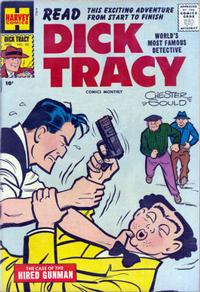 Cover Thumbnail for Dick Tracy (Harvey, 1950 series) #110