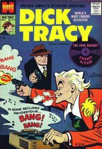 Cover Thumbnail for Dick Tracy (Harvey, 1950 series) #117