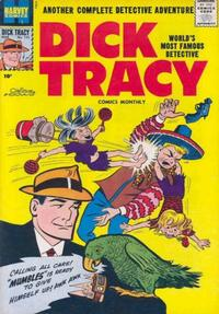 Cover Thumbnail for Dick Tracy (Harvey, 1950 series) #121
