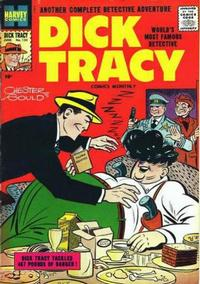 Cover Thumbnail for Dick Tracy (Harvey, 1950 series) #124