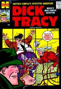 Cover Thumbnail for Dick Tracy (Harvey, 1950 series) #125