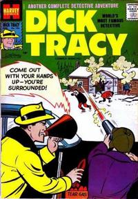 Cover Thumbnail for Dick Tracy (Harvey, 1950 series) #126