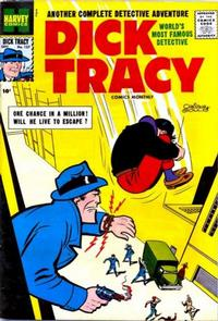 Cover Thumbnail for Dick Tracy (Harvey, 1950 series) #127