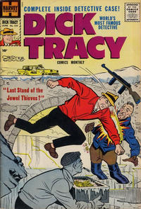 Cover Thumbnail for Dick Tracy (Harvey, 1950 series) #134