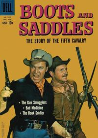 Cover Thumbnail for Four Color (Dell, 1942 series) #1029 - Boots and Saddles