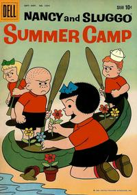 Cover Thumbnail for Four Color (Dell, 1942 series) #1034 - Nancy and Sluggo Summer Camp