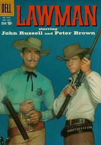 Cover Thumbnail for Four Color (Dell, 1942 series) #1035 - Lawman