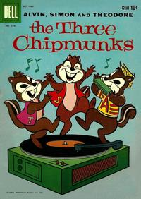 Cover Thumbnail for Four Color (Dell, 1942 series) #1042 - The Three Chipmunks