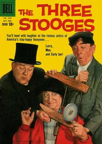 Cover Thumbnail for Four Color (Dell, 1942 series) #1043 - The Three Stooges