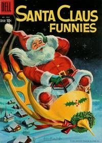 Cover Thumbnail for Four Color (Dell, 1942 series) #1063 - Santa Claus Funnies