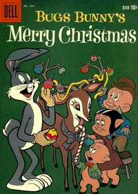 Cover Thumbnail for Four Color (Dell, 1942 series) #1064 - Bugs Bunny's Merry Christmas