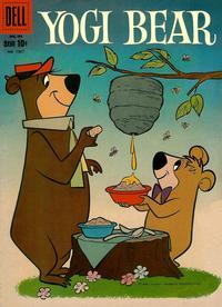 Cover Thumbnail for Four Color (Dell, 1942 series) #1067 - Yogi Bear
