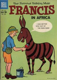 Cover Thumbnail for Four Color (Dell, 1942 series) #1068 - Francis, The Famous Talking Mule