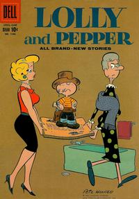 Cover Thumbnail for Four Color (Dell, 1942 series) #1086 - Lolly and Pepper