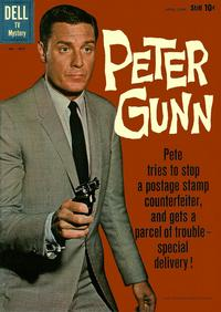 Cover Thumbnail for Four Color (Dell, 1942 series) #1087 - Peter Gunn