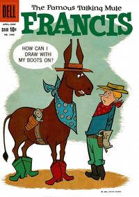 Cover Thumbnail for Four Color (Dell, 1942 series) #1090 - Francis, the Famous Talking Mule