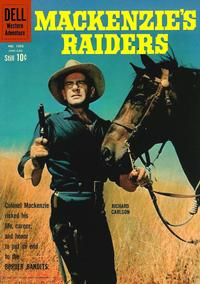Cover Thumbnail for Four Color (Dell, 1942 series) #1093 - Mackenzie's Raiders