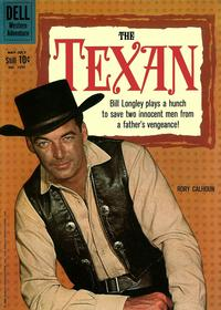Cover Thumbnail for Four Color (Dell, 1942 series) #1096 - The Texan