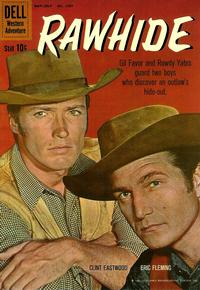 Cover Thumbnail for Four Color (Dell, 1942 series) #1097 - Rawhide