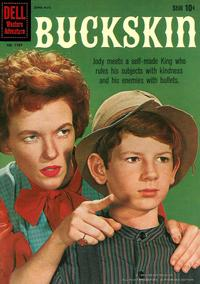 Cover Thumbnail for Four Color (Dell, 1942 series) #1107 - Buckskin