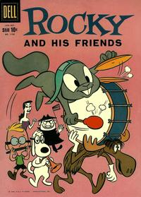 Cover Thumbnail for Four Color (Dell, 1942 series) #1128 - Rocky and His Friends