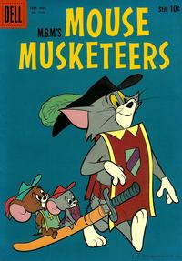 Cover for Four Color (Dell, 1942 series) #1135 - M.G.M.'s Mouse Musketeers