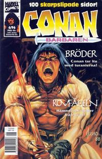 Cover Thumbnail for Conan (Semic, 1990 series) #6/1996