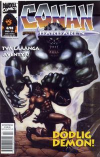 Cover Thumbnail for Conan (Egmont, 1997 series) #4/1998