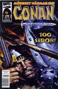 Cover Thumbnail for Conan (Egmont, 1997 series) #6/1998