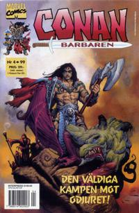 Cover Thumbnail for Conan (Egmont, 1997 series) #4/1999