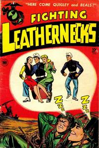 Cover Thumbnail for Fighting Leathernecks (Toby, 1952 series) #4