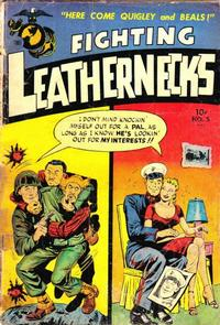Cover Thumbnail for Fighting Leathernecks (Toby, 1952 series) #5
