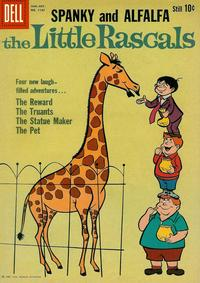 Cover Thumbnail for Four Color (Dell, 1942 series) #1137 - The Little Rascals