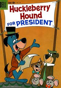 Cover Thumbnail for Four Color (Dell, 1942 series) #1141 - Huckleberry Hound for President