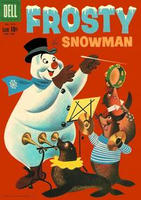 Cover Thumbnail for Four Color (Dell, 1942 series) #1153 - Frosty the Snowman