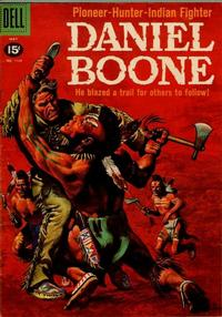 Cover Thumbnail for Four Color (Dell, 1942 series) #1163 - Daniel Boone