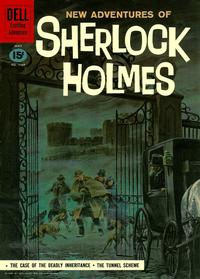 Cover Thumbnail for Four Color (Dell, 1942 series) #1169 [New Adventures of Sherlock Holmes]