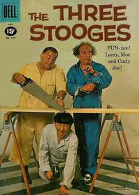 Cover Thumbnail for Four Color (Dell, 1942 series) #1170 - The Three Stooges