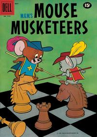 Cover Thumbnail for Four Color (Dell, 1942 series) #1175 - M.G.M.'s Mouse Musketeers