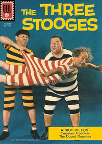 Cover Thumbnail for Four Color (Dell, 1942 series) #1187 - The Three Stooges