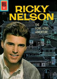 Cover Thumbnail for Four Color (Dell, 1942 series) #1192 - Ricky Nelson [Ad back cover]