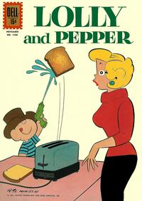 Cover Thumbnail for Four Color (Dell, 1942 series) #1206 - Lolly and Pepper